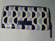 Dickins & Jones Blue & Cream Pattern Purse
