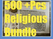 Vintage Saint Pendants Liturgical & Jewelry Mixed 500 + Pcs. Lot 60's 80's
