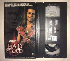 WWE - Bad Blood 2004 (VHS, 2004) WWF WCW NWO DX HBK HHH SHAWN MICHAELS TRIPLE H