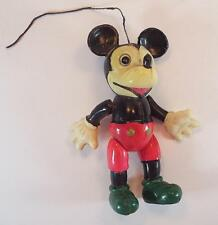 """Celluloid Muster Mickey Mouse Figur Höhe 10cm (4"""")  50er Jh. Japan Nr.2 #9"""