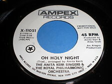 The Anita Kerr Singers & The Royal Philharmonic Orchestra: Oh Holy Night 45