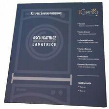 I-Genio Kit per Sovrapposizione Asciugatrice Lavatrice