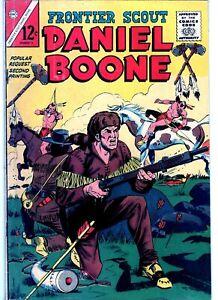 Frontier Scout Daniel Boone #14 1965 - Charlton - NO RESERVE!!!