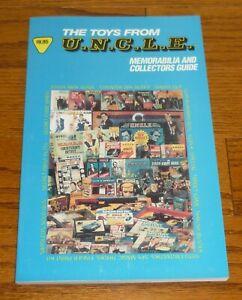 The Man From Uncle Memorabilia Guide book: Gun Sets, Toys, Models, Comics ++