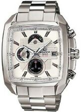 Casio Edifice EF549D-7A Mens Modern 100M Stainless Steel Chronograph Dress Watch