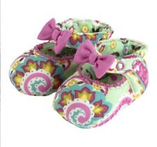 NWT VERA BRADLEY BABY MARY JANE SHOES TUTTI FRUTTI Size 0-6 MONTHS in gift box