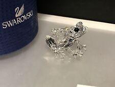 Swarovski Figurine 5243741 Frog 1 1/2in New