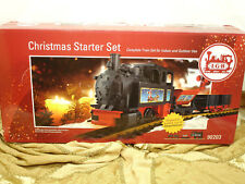 LGB Christmas Starter Train Set 90203 NEW Indoor Outdoor Use Battery Infrared