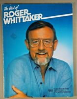 Best of Roger Whittaker sheet music song book 70s 80s country guitar piano vtg