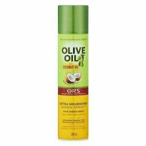 Organic Root Stimulator Olive Oil Sheen Hair Spray 240ml Extra Nourishing