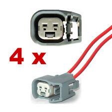 Pluggen injectoren - BOSCH EV6 met kabel (4 x FEMALE) connector plug verstuiver