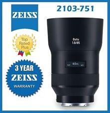 Zeiss Batis 85mm f/1.8 Lens for Sony E Mount Mfr # 2103-751
