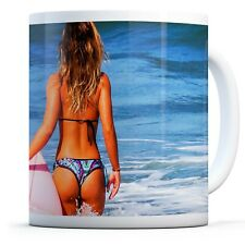 Awesome Surf Rider Girl - Drinks Mug Cup Kitchen Birthday Office Fun Gift #8086