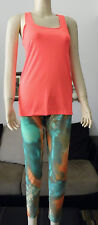NWOT From Brazil Cotton Sport Workout Top From Moda em Cotton Brand Orange