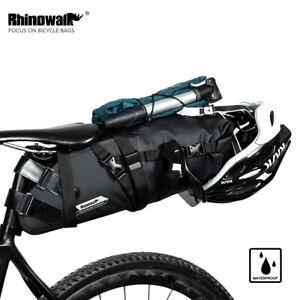 Rhinowalk Satteltasche Fahrradtasche 100% Wasserdicht 10L 13L für MTB Rennräder
