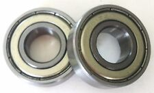 Two Brand New 6001ZZ 12X28X8mm Bearings For Gas/Electric Scooters Pocket Bikes