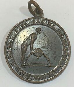 1960 Australia Royal Life Saving Society Medal Award Engraved J Carpenter