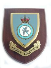 RAF Tactical Communication Wing Wall Plaque UK Made for MOD Royal Air Force