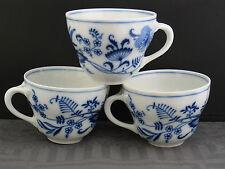 3 schöne Tassen Porzellanfabrik Oscar Schaller & Co. (Nachfolger)