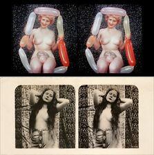 18 Akt - Stereofotos, Opas nude Mix  um 1880 - 1940,  Lot 2 - Stereoviews Akt