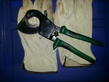 "GREENLEE 10"" Ratchet Cable Cutter, Center Cut. GREENLEE Ratchet Cable Cutter,"