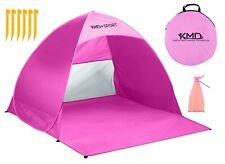 Pop Up Beach Tent Portable Sun Shade Shelter Outdoor Camping Fishing Canopy Pink