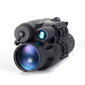 Handheld IR Night Vision Monocular Scope for Huting Rescue Boating Stargazing