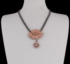 Modeschmuck-Halsketten & -Anhänger aus Legierung mit Florales für Damen