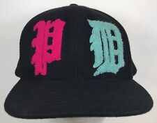 Authentic Pink Dolphin Fuzzy Haight SF Adjustable SnapBack Hat Cap Flatbill
