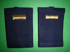 Pair Of US Air Force 2nd LIEUTENANT Small Epaulets