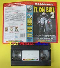 film VHS TT ON BIKE 2 2001 mondocorse CINEHOLLYWOOD CHV 8471 90 min (F35) no dvd