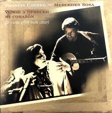 Francis Cabrel, Mercedes Sosa CD Single Vengo A Ofrecer Mi Corazon - Promo - Fr