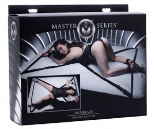 Bondage Over and Under The Bed Restraint Set BDSM Exotic Fantasy. Master Series