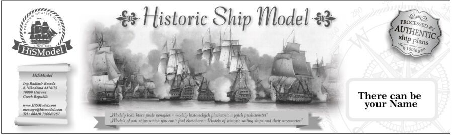 HiSModel - Historic Ship Models
