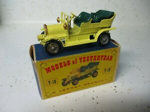 Matchbox Lesney Yesteryear Y-16 Spyker- gold trim on grille, boxed
