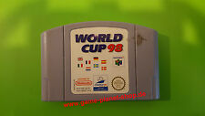 World Cup 98 (PAL) FOOTBALL BUNDESLIGA Nintendo N64 Sammlung