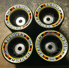 8 Sure-Grip Carrera Speed/Jam Wheels 62Mm 38mm wide 94A Black W