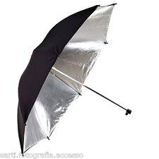 OMBRELLO RIFLETTENTE argento/nero 101cm (40'') Phottix®