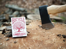 CARTE DA GIOCO BICYCLE LUMBERJACKS,poker size