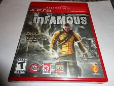 Infamous  (Sony Playstation 3, 2009) NEW PS3