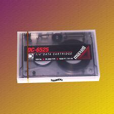 Maxell DC 6525, 525 MB, SLR/QIC Data Cartridge Datenkassette, NEU & OVP