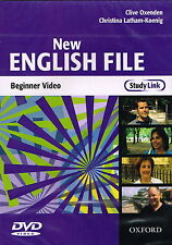 Oxford NEW ENGLISH FILE Beginner Class Video DVD @NEW & SEALED@ 9780194518802