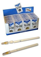 NIC OUT Cigarette Super Slim Filters for smokers 1 CARTON 24 packs (600 filters)