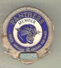 SOUTH ADELAIDE PANTHERS 1982 AUSTRALIAN RULES FOOTBALL LAPEL BADGE