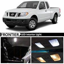 7x White Interior LED Lights Package for 2005-2016 Frontier + TOOL