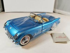 1955 Chevrolet Corvette Conv. 1:24 Franklin Mint. Used. Beautiful.