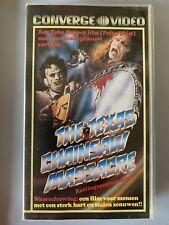Texas Chainsaw Massacre - ausländische VHS-Kassette