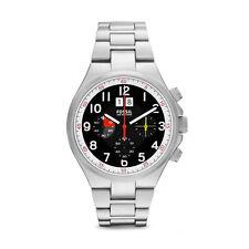 FOSSIL Uhr CH2909 QUALIFIER Herren Edelstahl Armbanduhr Chronograph Datum Analog