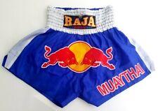 Raja Redbull Energy Bull Boxing Fighter Muay Thai Shorts Mma Boxing Size M