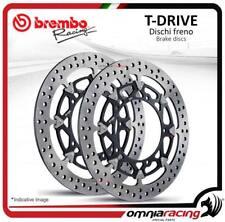 2 Dischi Freno anteriore Brembo T Drive 310mm Honda CBR 600 RR /ABS 2003>